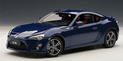 1/18 AUTOART 78775 TOYOTA GT86 (EUROPEAN VERSION/LHD)(BLUE SILICA)