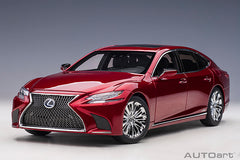 (Pre-Order) 1/18 AUTOART 78869 Lexus LS 500h (Morello Red Metallic/ Black Interior)
