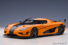 (Pre-Order) 1/18 AUTOART 79023 Koenigsegg Agera RS (Cone Orange/ Carbon Black/ Black Accents)