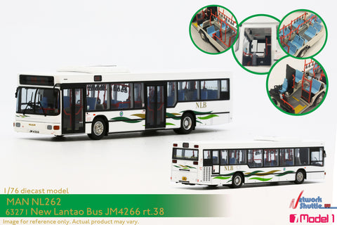 1/76 New Lantao Bus MAN NL262 11.7m - MN12 rt.38