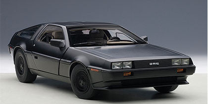 1/18 AUTOART 79912 Delorean DMC-12 (Matt Black)