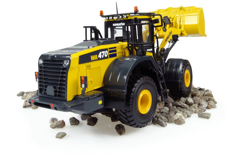 1:50 Universal Hobbies UH8114 - Komatsu WA470-8 Wheel Loader Diecast Model