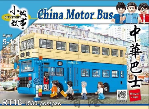 Royal Toys Citystory RT16 China Motor Bus