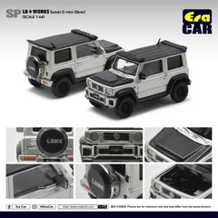 1/64 Era Car SP18 LB Works Suzuki G Mini (Silver)