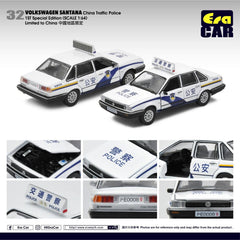 1/64 Era Car 32 Volkswagen Santana China Traffic Police (1st Special Edition)