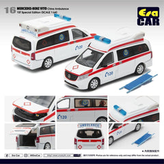 (Pre-Order) 1/64 Era Car 16 Mercedes-Benz Vito China Ambulance (1st Special Edition)