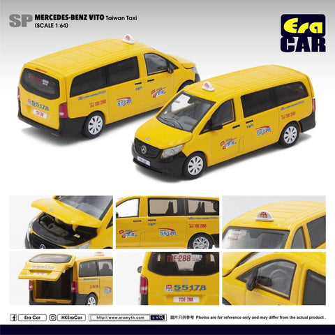 1/64 Era Car SP14 Mercedes-Benz Vito Taiwan Taxi (Metro Taxi)
