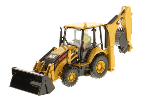 Diecast Masters 85249 1/50 Caterpillar CAT 432F2 Backhoe Loader