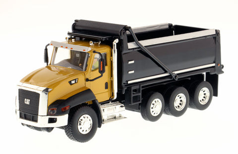 Diecast Masters 85290 1/50 Caterpillar CAT CT660 Dump Truck - Yellow