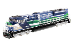 Diecast Masters 85534 1/87 Caterpillar CAT EMD SD70ACe-T4 Locomotive (Blue/Green)