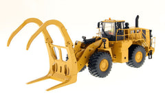 Diecast Masters 85917 1/50 Caterpillar CAT 988K Wheel Loader with grapple