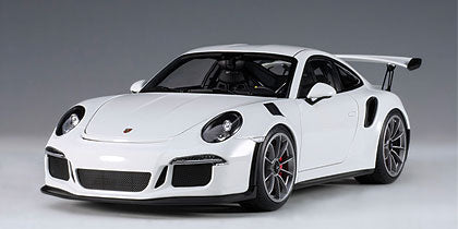 1/18 AUTOART 78166 PORSCHE 911(991) GT3 RS (WHITE/DARK GREY WHEELS)