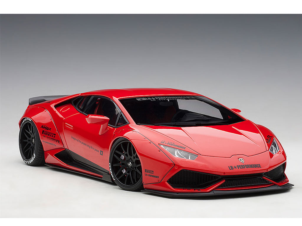 1 18 Autoart 79123 Liberty Walk Lb Works Lamborghini Huracan Red