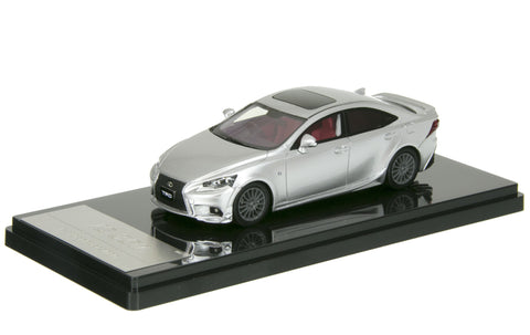 1/43 WIT'S - CT530 IS 350 F SPORTS PARTS (TRD) PLATINUM SILVER METALLIC