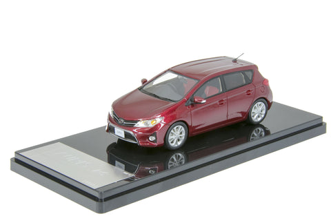 1/43 WIT'S - CT552 TOYOTA AURIS RS S Package 2012 Red Mica Metallic