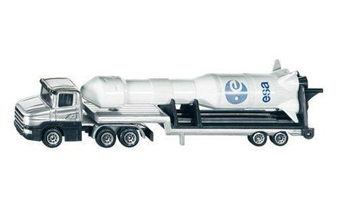 Siku 1614 Low Loader with Rocket
