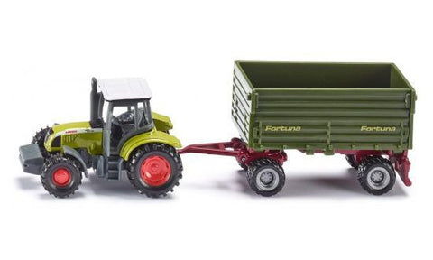 Siku 1634 Tractor with 2-axled trailer