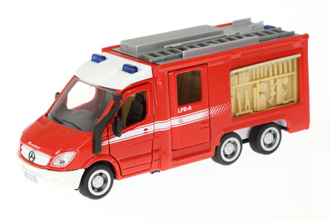 Siku 2113 Mercedes-Benz Sprinter 6x6 Fire Engine