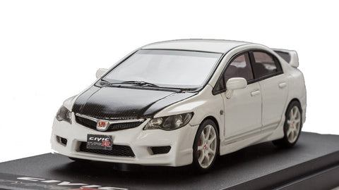 1/43 MARK 43 - Honda CIVIC TYPE R (FD2) Championship White Carbon Bonnet (PM4332CW)