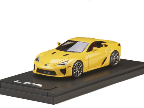 1/43 MARK 43 - Lexus LFA Pearl yellow (PM4334Y)