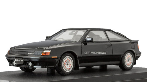 1/43 MARK 43 - Toyota CELICA GT-Four (ST465) 1987 black with sports wheel (PM4337SBK)
