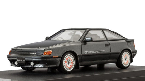 1/43 MARK 43 - Toyota CELICA GT-Four (ST465) 1987 Gray M with sports wheel (PM4337SGM)