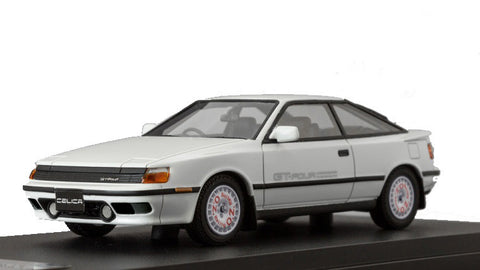1/43 MARK 43 - Toyota CELICA GT-Four (ST465) 1987 Super white II with sports wheel (PM4337SW)