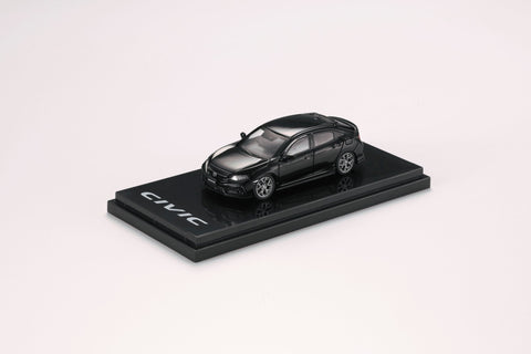 1/64 Hobby Japan HJ641018BBK Honda Civic HB (FK7) Carbon Bonnet Customized Ver Black Pearl
