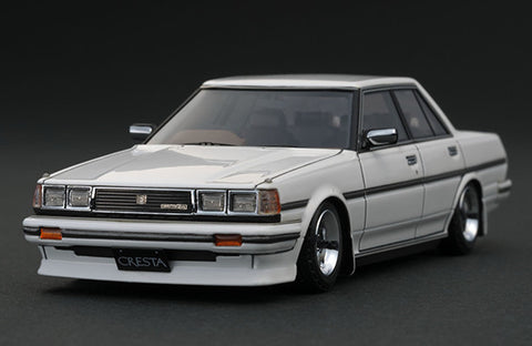 1/43 Ignition Model IG0680 Toyota Cresta (GX71) Super Lucent White (SSR Wheel)