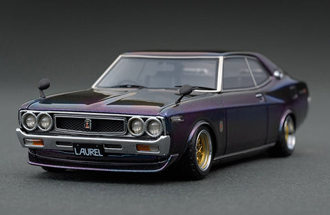 1/43 Ignition Model IG0913 Nissan Laurel 2000SGX (C130) Metallic Purple