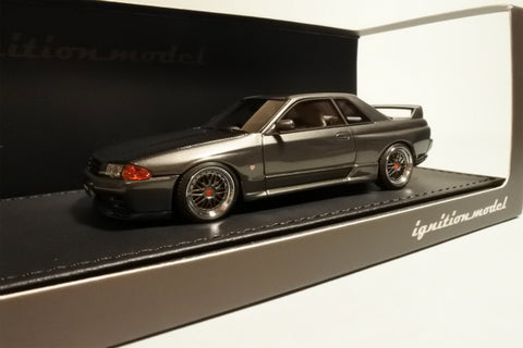 1/43 ignition model - IG0926 Nissan Nismo R32 GT-R S-tune Gun Grey Metallic