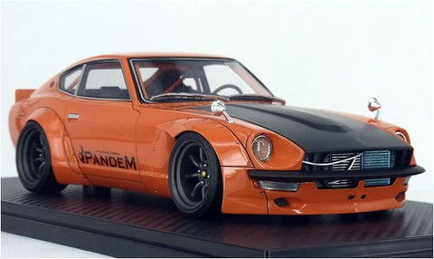 1/18 ignition model - IG1009 Pandem Nissan Fairlady S30 Z Orange