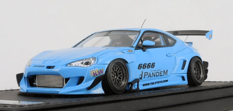 1/43 ignition model - IG1166 Pandem TOYOTA 86 V3 Blue