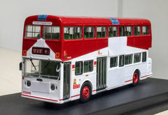 1/76 Leyland Fleetline Special Livery - D666 rt.102