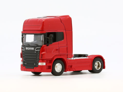 1/64 WELLY Scania R730 V8 (Red)