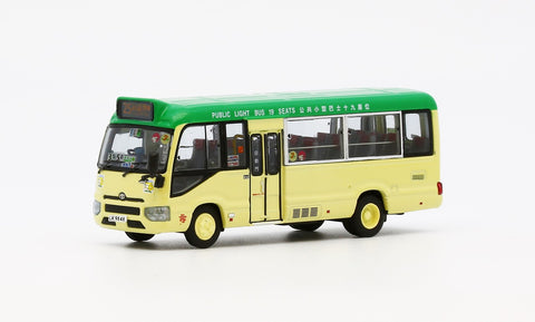 1/76 Perfect Gold Toyota Coaster BZB70R (LPG) 19 Seats - LK9848 rt.25