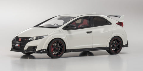 1/18 KYOSHO KSR18022W Honda Civic Type R White