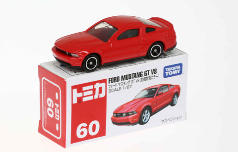 TAKARA TOMY - Tomica No.060 Ford Mustang GT V8 (1st Edition)