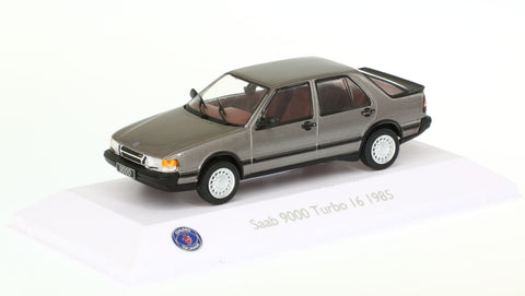1/43 Saab Car Museum Collection: Saab 9000 Turbo I 6 1985