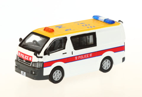 1/76 Hong Kong Police Toyota Hiace (Yellow Roof) - AM6871