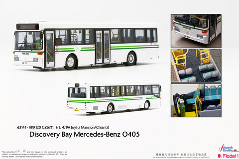 1/76 Discovery Bay Mercedes-Benz O405 - HKR120 rt.4/9A