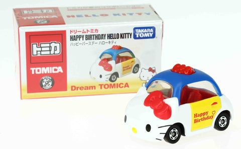 TAKARA TOMY - Dream Tomica Happy Birthday Hello Kitty