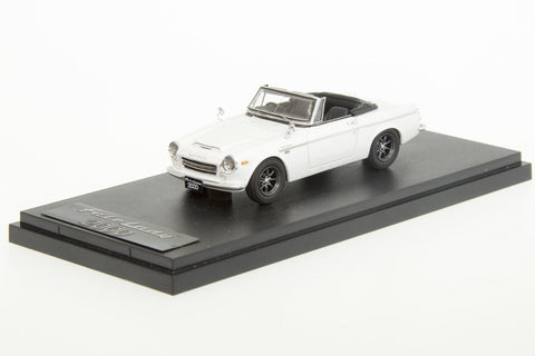 1/43 MARK 43 - DATSUN FAIRLADY 2000(SR311) SPORT WHEEL WHITE (PM4316SW)