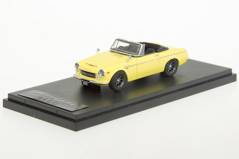 1/43 MARK 43 - DATSUN FAIRLADY 2000(SR311) YELLOW (PM4316SY)