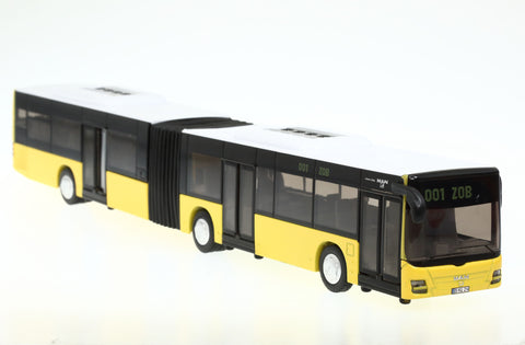 Siku 3736 1/50 Hinged Bus (yellow)