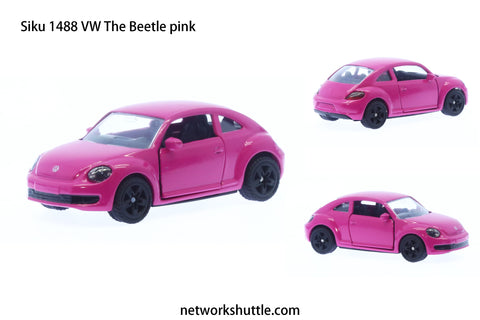 Siku 1488 VW The Beetle pink