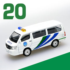 1/64 XCarToys 20 Urban Management Jinbei Hiace