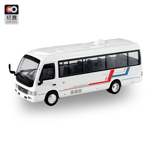 1/64 XCarToys Toyota Coaster - White