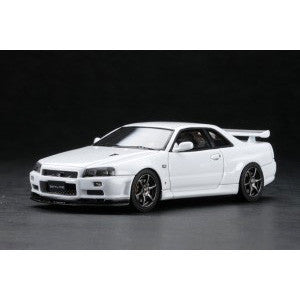 1/43 MARK 43 - Nissan Skyline GT-R (BNR34) V Spec II White (PM4301W)