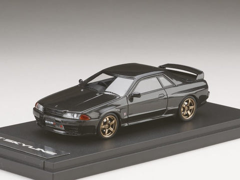 1/43 MARK 43 - NISSAN SKYLINE GT-R (BNR32) NISMO Customized version Gun Gray Metallic (PM4304NGM)
